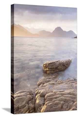 Loch Scavaig and the Cuillin Hills on the Isle of Skye, Inner Hebrides, Scotland-Julian Elliott-Stretched Canvas Print