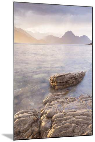 Loch Scavaig and the Cuillin Hills on the Isle of Skye, Inner Hebrides, Scotland-Julian Elliott-Mounted Photographic Print
