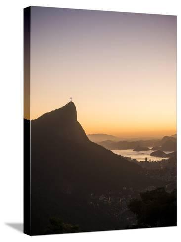 View from Chinese Vista at Dawn, Rio De Janeiro, Brazil, South America-Ben Pipe-Stretched Canvas Print