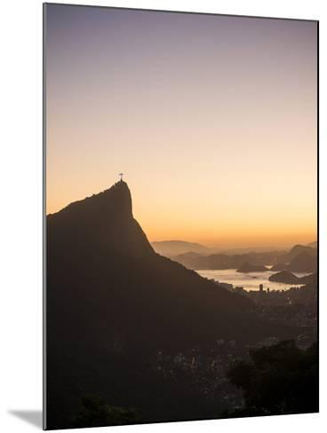 View from Chinese Vista at Dawn, Rio De Janeiro, Brazil, South America-Ben Pipe-Mounted Photographic Print