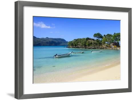 Playa Rincon, Las Galeras, Semana Peninsula-Michael Runkel-Framed Art Print