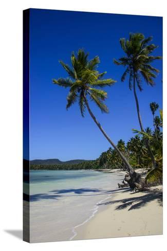 Playa Grande, Las Galeras, Semana Peninsula-Michael Runkel-Stretched Canvas Print