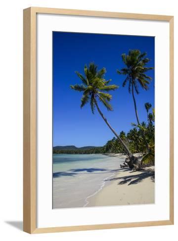 Playa Grande, Las Galeras, Semana Peninsula-Michael Runkel-Framed Art Print