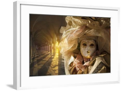 Venice, UNESCO World Heritage Site, Veneto, Italy, Europe-Angelo Cavalli-Framed Art Print