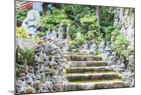 Statues in Daisho-In Buddhist Temple, Miyajima Island, Hiroshima Prefecture, Honshu, Japan, Asia-Christian Kober-Mounted Photographic Print