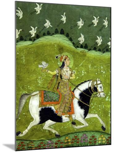 Sultan Razia of Delhi, 18th Century, Archaeological Museum, Red Fort, Delhi, India, Asia-Peter Barritt-Mounted Photographic Print