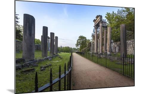 The Ruins, Originally from Leptis Magna, a Roman Town Near Tripoli-Charlie Harding-Mounted Photographic Print