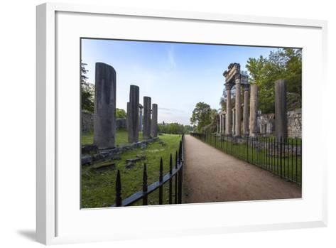 The Ruins, Originally from Leptis Magna, a Roman Town Near Tripoli-Charlie Harding-Framed Art Print