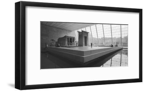 Temple Of Dendor Panorama 2 - Metropolitan Museum Of Art-Henri Silberman-Framed Art Print