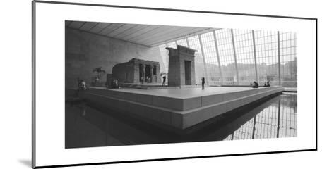 Temple Of Dendor Panorama 2 - Metropolitan Museum Of Art-Henri Silberman-Mounted Photographic Print