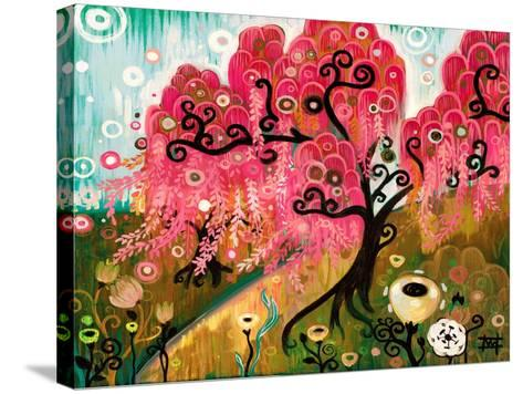Cherry Blossom Willow-Natasha Wescoat-Stretched Canvas Print