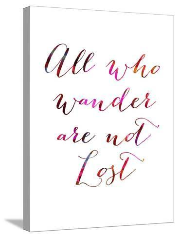 All Who Wander-Natasha Wescoat-Stretched Canvas Print