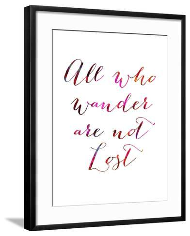 All Who Wander-Natasha Wescoat-Framed Art Print