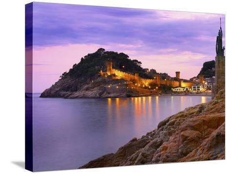 Spain, Catalonia, Costa Brava, Tossa De Mar-Shaun Egan-Stretched Canvas Print