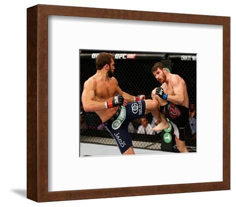 UFC Fight Night: Rockhold v Bisping-Josh Hedges/Zuffa LLC-Framed Art Print