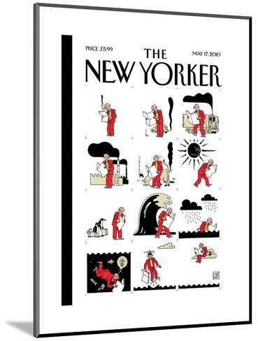 The New Yorker Cover - May 17, 2010-Joost Swarte-Mounted Premium Giclee Print