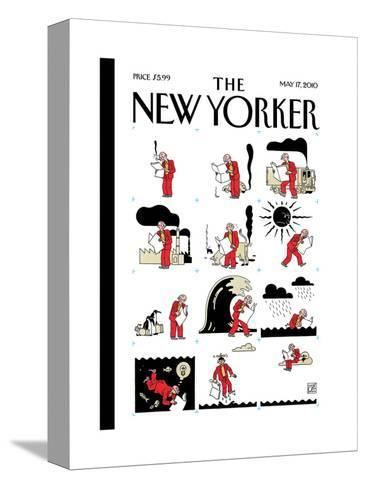 The New Yorker Cover - May 17, 2010-Joost Swarte-Stretched Canvas Print