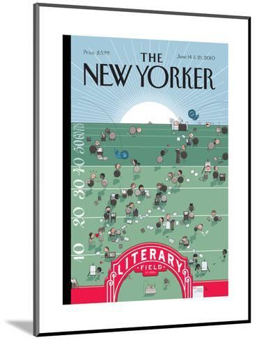 The New Yorker Cover - June 14, 2010-Chris Ware-Mounted Premium Giclee Print