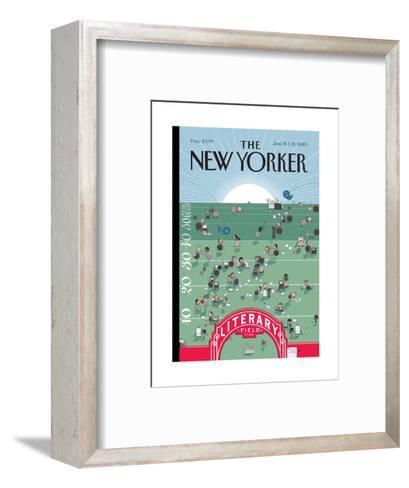 The New Yorker Cover - June 14, 2010-Chris Ware-Framed Art Print