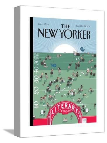 The New Yorker Cover - June 14, 2010-Chris Ware-Stretched Canvas Print