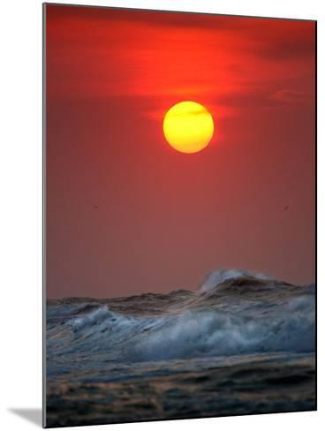 Sunset-Ruud Peters-Mounted Photographic Print