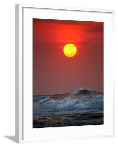 Sunset-Ruud Peters-Framed Art Print