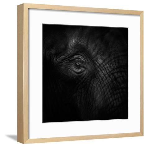 Old Eye-Ruud Peters-Framed Art Print