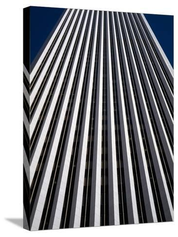 Low Angle View of the Aon Center, Chicago Loop, Chicago, Cook County, Illinois, USA--Stretched Canvas Print
