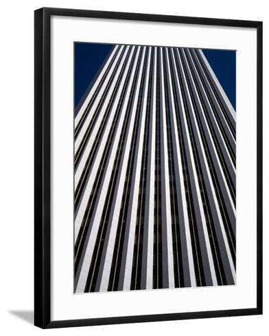 Low Angle View of the Aon Center, Chicago Loop, Chicago, Cook County, Illinois, USA--Framed Art Print