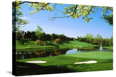 Golf Course, Congressional Country Club, Potomac, Montgomery County, Maryland, USA--Stretched Canvas Print