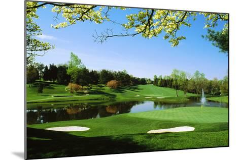 Golf Course, Congressional Country Club, Potomac, Montgomery County, Maryland, USA--Mounted Photographic Print