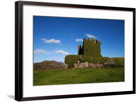 Ballycarberry Castle, Built Circa 16th Century, Near Caherciveen, Ring of Kerry, County Kerry--Framed Art Print