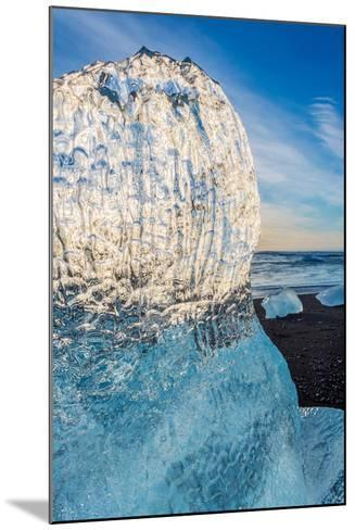 Close Up on Ice. Ice Formations Come from the Jokulsarlon Glacial Lagoon--Mounted Photographic Print