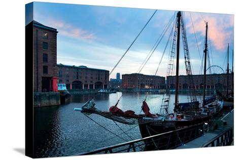 The Albert Dock, Liverpool, Merseyside, England--Stretched Canvas Print