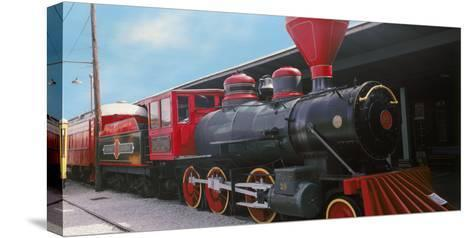 Locomotive at the Chattanooga Choo Choo, Chattanooga, Tennessee, USA--Stretched Canvas Print