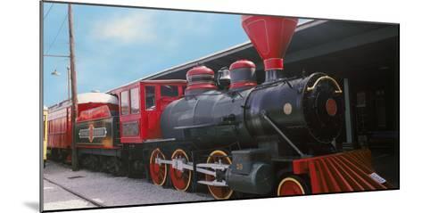 Locomotive at the Chattanooga Choo Choo, Chattanooga, Tennessee, USA--Mounted Photographic Print