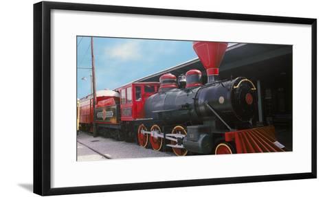 Locomotive at the Chattanooga Choo Choo, Chattanooga, Tennessee, USA--Framed Art Print