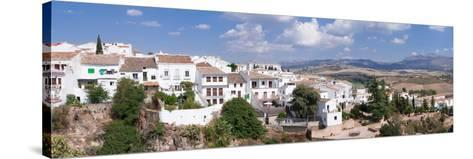 View of Ronda, Malaga Province, Andalusia, Spain--Stretched Canvas Print