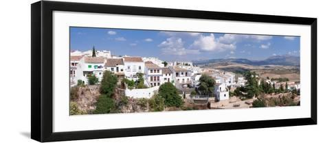 View of Ronda, Malaga Province, Andalusia, Spain--Framed Art Print
