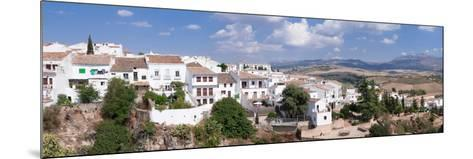View of Ronda, Malaga Province, Andalusia, Spain--Mounted Photographic Print
