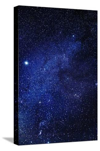 Milky Way Galaxy, Lapland, Sweden--Stretched Canvas Print