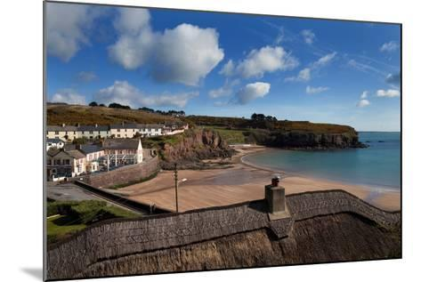 The Strand Inn and Dunmore Strand, County Waterford, Ireland--Mounted Photographic Print