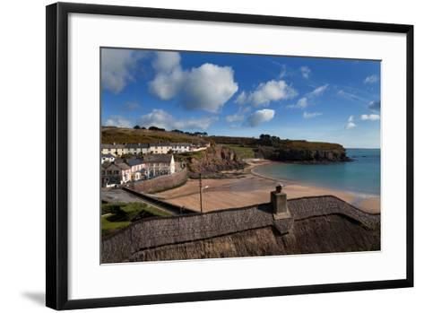 The Strand Inn and Dunmore Strand, County Waterford, Ireland--Framed Art Print
