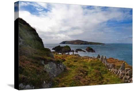 Cape Clear Island from Sherkin Island, County Cork, Ireland--Stretched Canvas Print