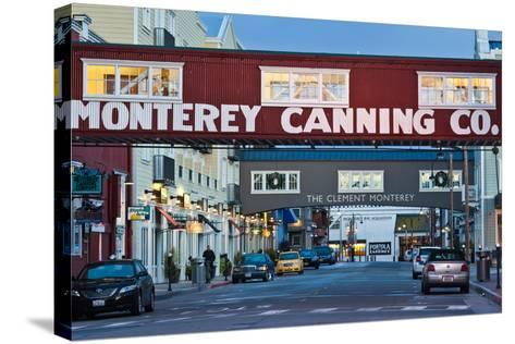 Cannery Row Area at Dawn, Monterey, California, USA--Stretched Canvas Print