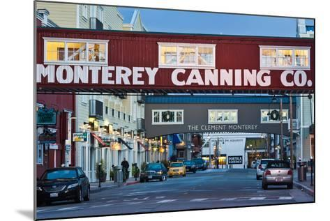 Cannery Row Area at Dawn, Monterey, California, USA--Mounted Photographic Print