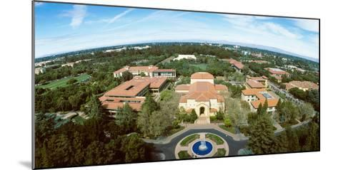 Aerial View of Stanford University, Stanford, California, USA--Mounted Photographic Print