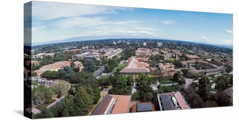Aerial View of Stanford University, Stanford, California, USA--Stretched Canvas Print