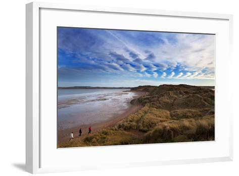 The Backstrand, Tramore, County Waterford, Ireland--Framed Art Print