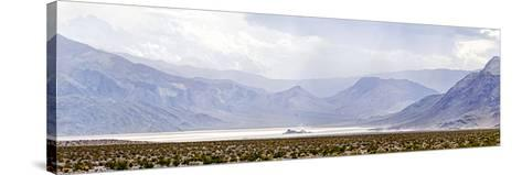 Death Valley Racetrack, Death Valley National Park, California, USA--Stretched Canvas Print
